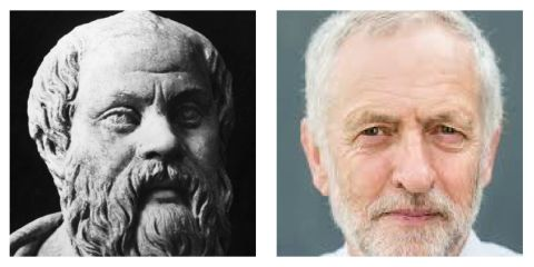 Why Socrates Would Vote for Corbyn