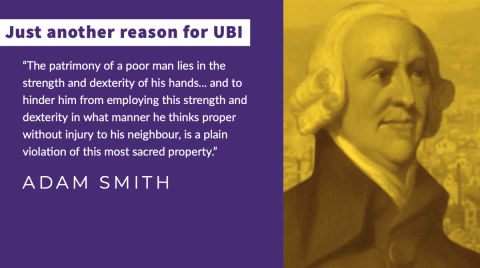 Adam Smith on Basic Income